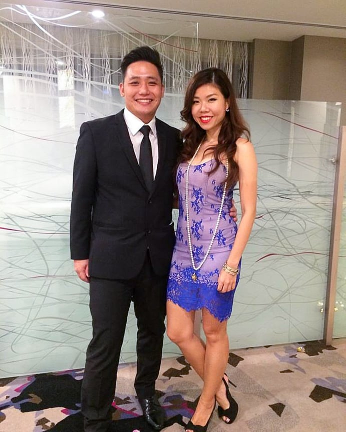 Dilun's life quickly returned to normalcy, and he even found love shortly after his awe-inspiring decision. Here the dapper 30-year-old is with his beautiful girlfriend, Daphne Lee.