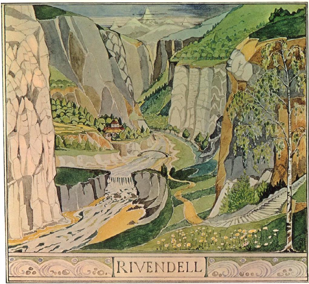 Lauterbrunnen, Switzerland Tolkien Rivendell